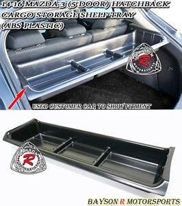Trunk Cargo Storage Shelf Tray Abs Fits 14 18 Mazda 3
