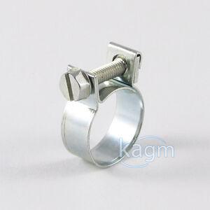 10x-Schlauchschellen-15-17-mm-Mini-Schellen-Industriequalitaet-W1-verzinkt-TOP