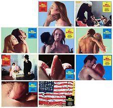 SOGNI BAGNATI FOTOBUSTE 10 PZ. ADULT EROTIC FANTASIES 1973 WET DREAMS LOBBY CARD