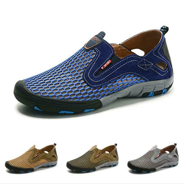 Casuals shoes Men neaker Hiking Mid Top Athletic Comfort Trail Mesh Breathable