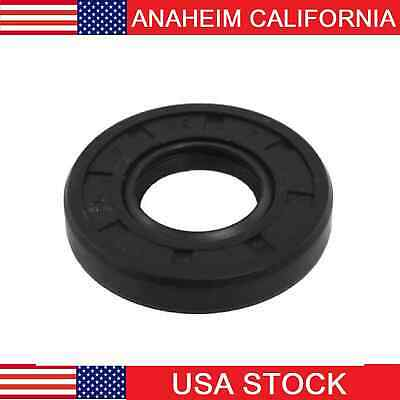 """Oil and Grease Seal TC 1.625/""""x 2.125/""""x 0.25/"""" Rubber Covered Double Lip w//Garter"""