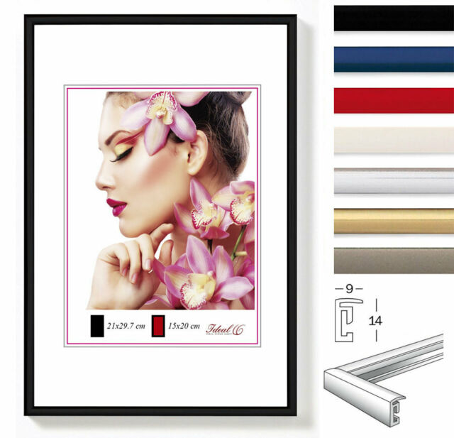 Ideal Light Kunststoff Bilderrahmen in 20x30 cm bis 50x70 cm Bilder Foto Rahmen