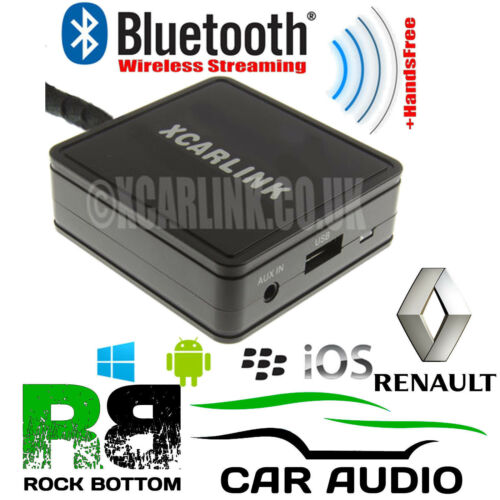 Renault Traffic 2000-2009 Bluetooth streaming de música aux manos libres Kit de coche sku712