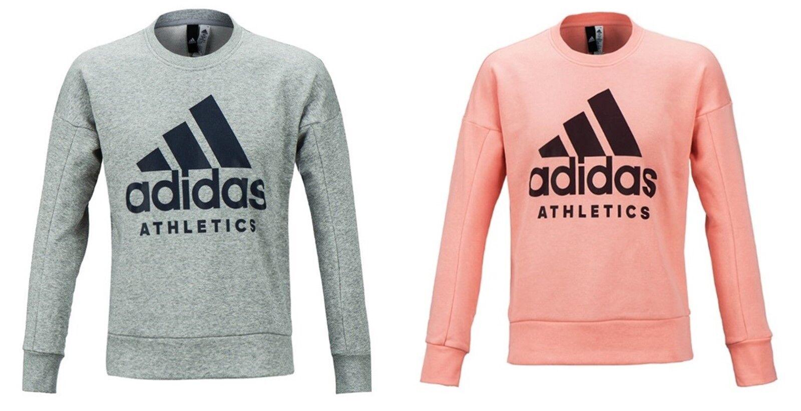 "Adidas ΓυναικΡία Αθλητικά ID L / S πουκάμισα Pinke Γκρι Ξ""ΞΉΟŒΞ³ΞΊΞ± Πουκάμισα GYM T-shirt Jersey B47325"