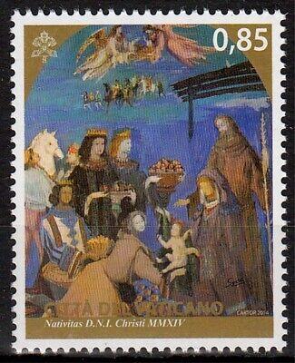 Europa Vornehm Vatikan Minr 1826 ** Weihnachten 2014