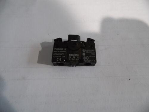 Siemens 3SB3400-1A Lampenfassung unbenutzt lose Indus.Sector