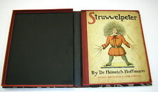 Rare Antique c1920 English Struwwelpeter Children's Book George Routledge In Box