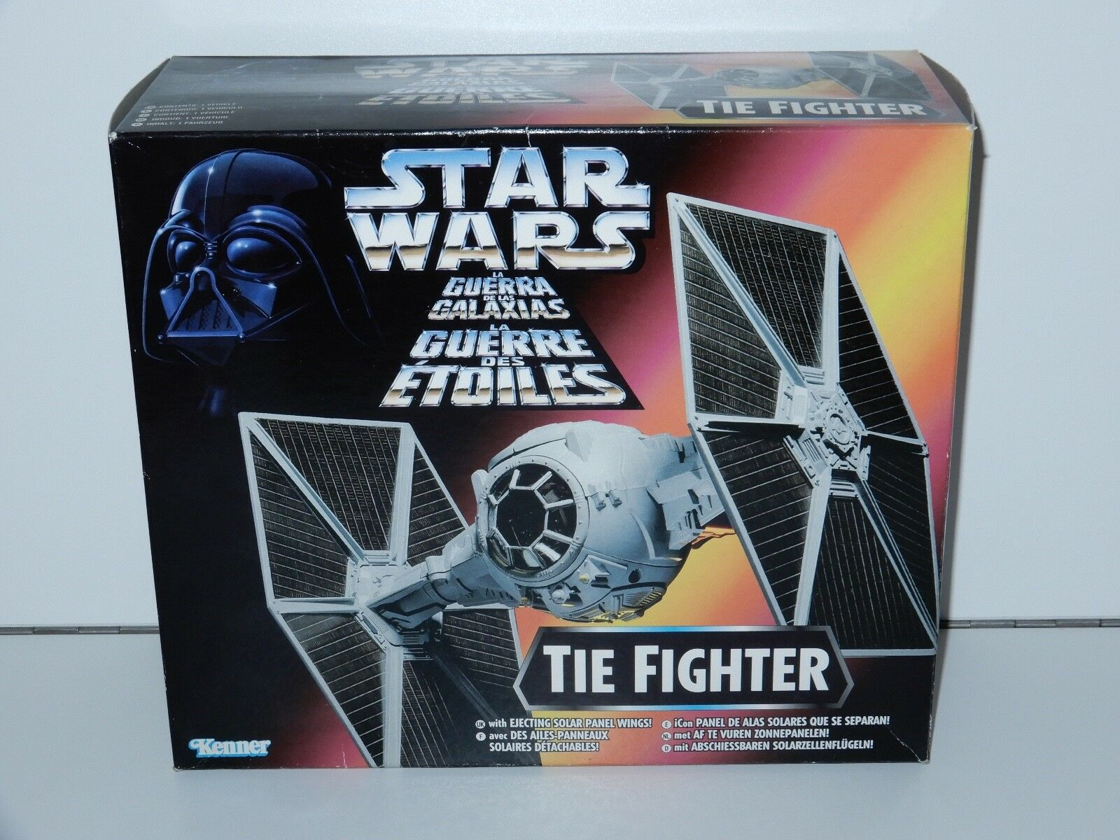 STAR WARS 1995 POTF2 TIE FIGHTER MIB TRI-LOGO BOX NRFB KENNER