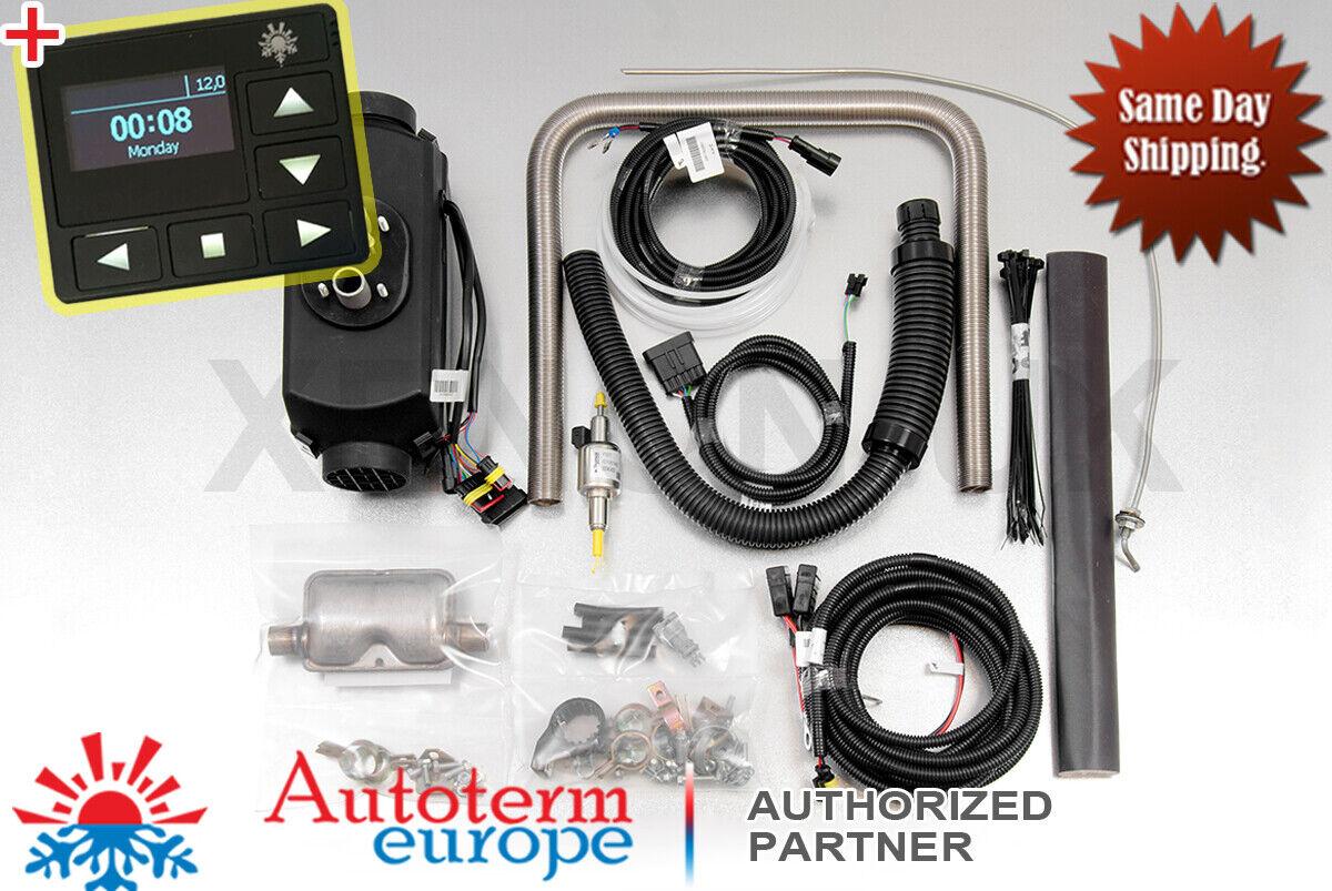 HQ 3KW 12V Air diesel heater Heizung Standheizung+knob Schalter+Luftfilter ip