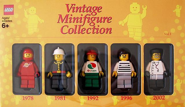 NEW Lego Vintage Minifig Collection Volume 1 852331