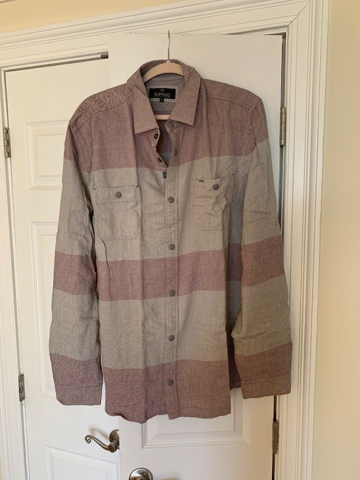 Buffalo David Bitton Rocco Combo Casual Shirt Size XXL