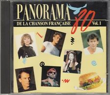 CD ALBUM PANORAMA 80 CHANSON FRANCAISE VOL 1  / HALLYDAY KASS GAINSBOURG PAGNY