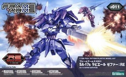 KOTOBUKIYA FRAME ARMS SA-17s RAPIER ZEPHYR RE 1 100 Model Kit NEW Japan F S