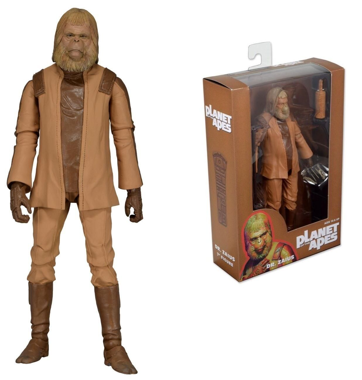 Neca Planet der Affen Dr Zaius Planet of Apes Series 1