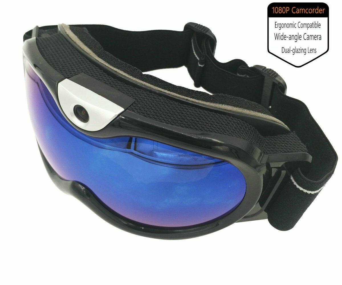 Skiing Goggle 1080P Video Action Camera Snowboarding Ergonomic Eyewear