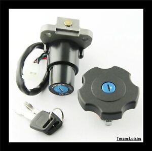 Kit-Contacteur-Neiman-4-fils-Cle-Bouchon-Serrure-pour-Yamaha-600-XT-NEUF-FRANCE
