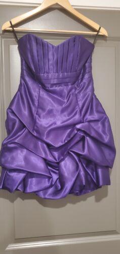 Jessica McClintock Gunne Sax Purple Cocktail Dress