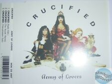 ARMY OF LOVERS CRUCIFIED UK MAXI CD