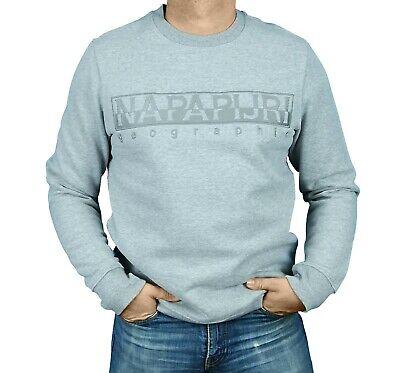 Napapijri Sweatshirt NOYIWR BERBER C in 3 Farben 041schwarz 160grau 176blau | eBay