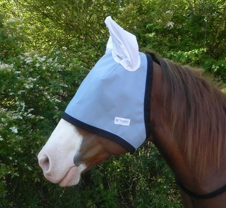 90% UV  proof Eye Predection Shade with ears Doubles as fly mask & sun visor  inexpensive