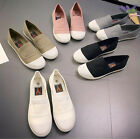 Fashion Women Girls Canvas Shoes Casual Slip On Flats Loafer Leisure Sneakers