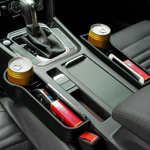 Car Seat Organizer Holder Gap Catcher Filler Storage Box Bottle Pocket Organizer