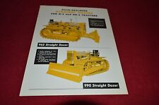 Allis Chalmers H-3 HD-3  Crawler Tractor Straight Dozer Dealers Brochure DCPA3