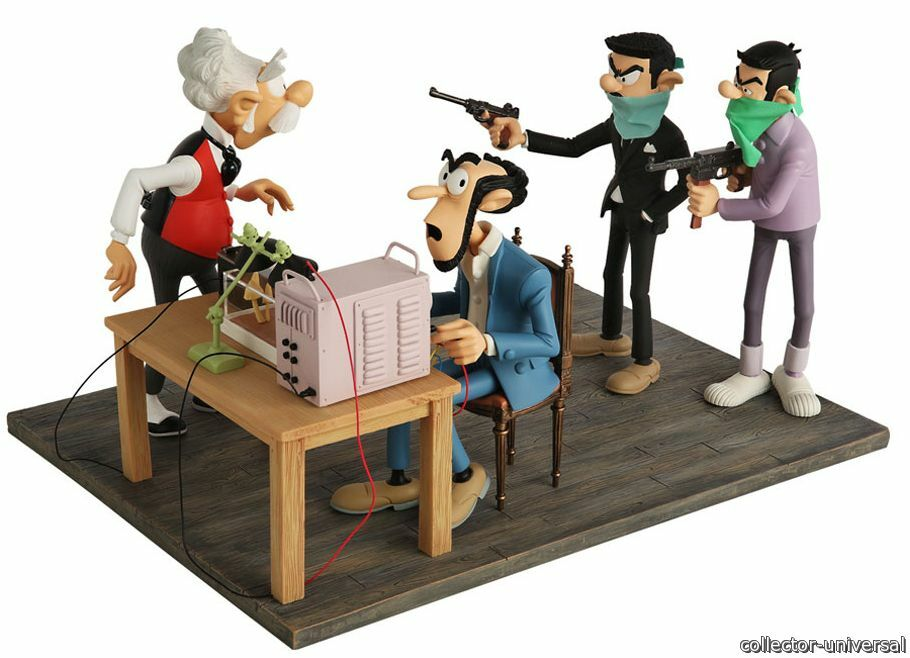 The kidnapping zorglub champignac spirou figures and you franquin