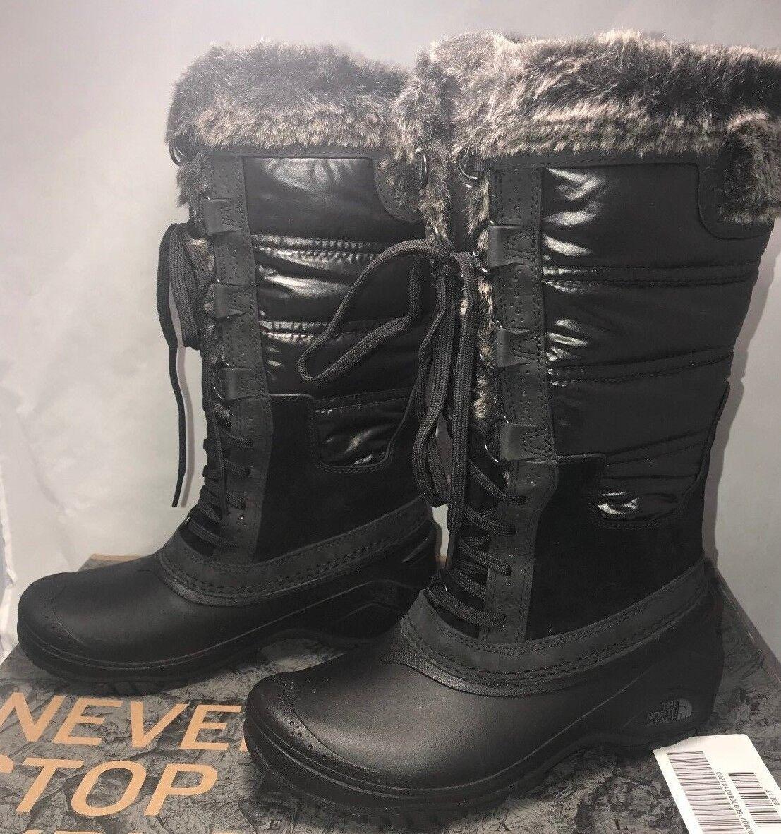 The North Face Mujeres Mujeres Mujeres Tamaño 5 botas Shellista II Negro gris Gatito Piel de  150  preferente