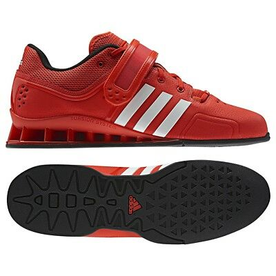 Men's Adidas Adipower Weightlifting Shoes - Red / White- V24382 Mens Size 14.5 | eBay