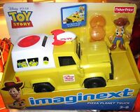 Fisher Price Imaginext Disney-pixar Toy Story Pizza Planet Truck Asap Ship