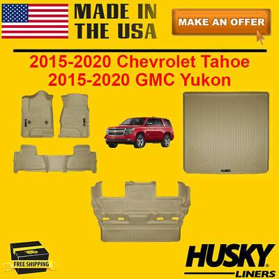 Husky Liners WeatherBeater Tan Cargo Area Mat for 2015-2019 Escalade//Tahoe//Yukon