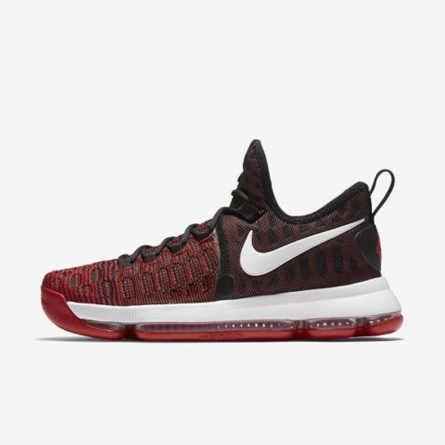 Nike Zoom KD 9 Kevin Durant University Red & Black Men's 843392-610