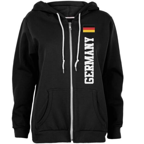 Oktoberfest Germany Flag World Cup Womens Full Zip Hoodie