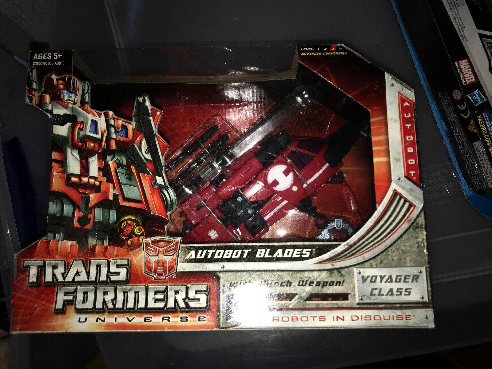NUOVO SIGILLATO Hasbro Transformers Universe VOYAGER classeE Autobot LAME RARO