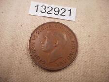 1938 Great Britain Penny - Very Nice Collector Grade Album Coin - # 132921