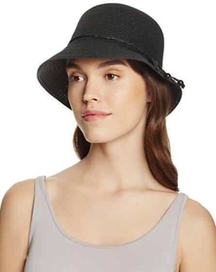 ff388c8c August Hats Womens Company Packable Cloche Hat Black One Size for ...