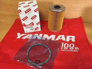Yanmar 41650-502330 Fuel Filter Element 41650-502330-12 Genuine OEM