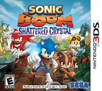 Sonic Boom: Shattered Crystal - Nintendo 3ds , New, Free Shipping