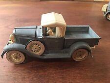 "Vintage Hubley Toys Model A Pick Up Truck 854-5K Diecast Metal  Seat Ford Car 8"""