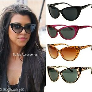 50s 60s style womens cat eye sunglasses retro rockabilly glasses vintage 283 ebay. Black Bedroom Furniture Sets. Home Design Ideas