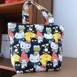 Image Is Loading Pom Purin Melody Anime Handbag Zip Lunch