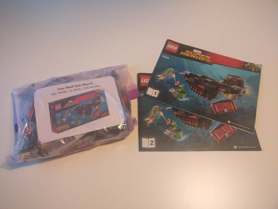 Lego Super heroes, 76048