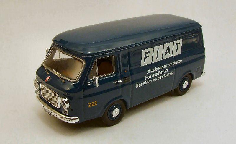 Fiat 238 Van Assistenza Vacanze 1970 1:43 Model RIO4303 RIO