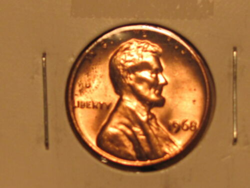 1968 P/&D Set Lincoln Memorial Cent Uncirculated Gems