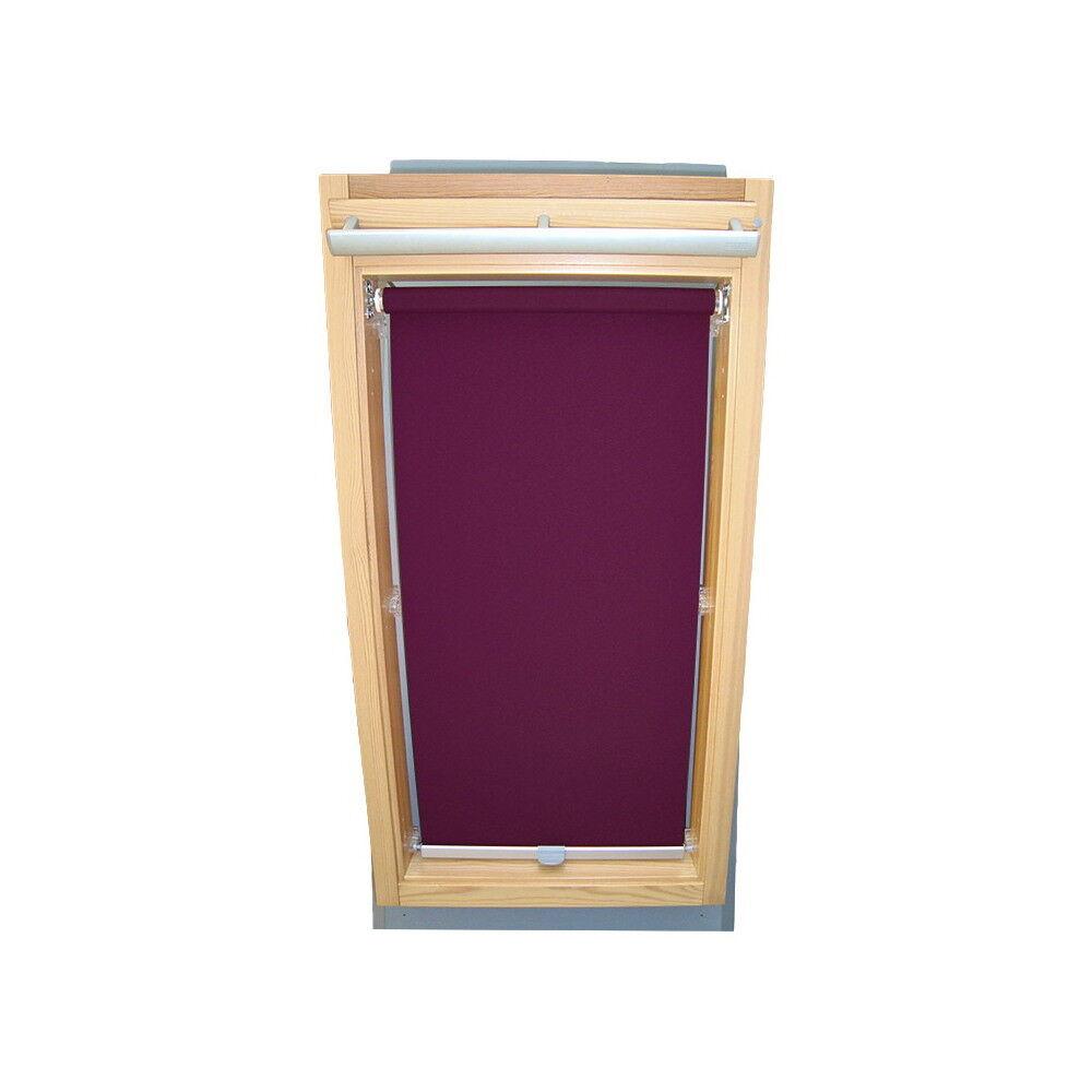 Rollo Sichtschutz f. Roto Dachfenster WDF 310 - 319   320 - 329 - lila