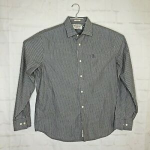 PENGUIN-Men-039-s-Classic-Fit-Long-Sleeve-Casual-Button-Down-Shirt-Size-XL-Gray