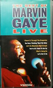 The Best Of Marvin Gaye Live VHS