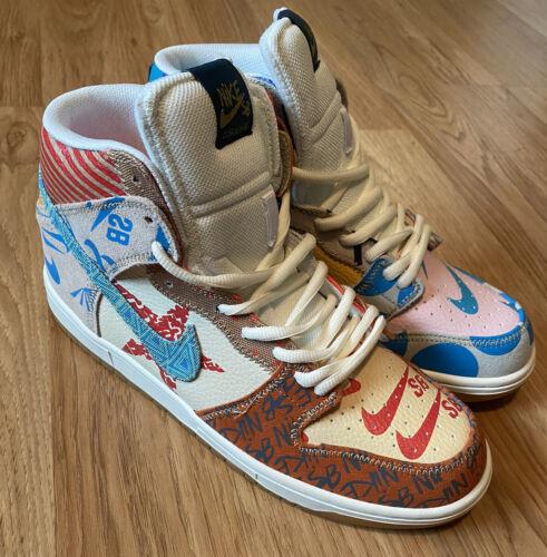 Nike Dunk SB High 'What The' x Thomas Campbell Siz