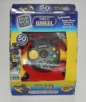 Dreamgear Turbo Gt Wheel 50 Games In One R10230